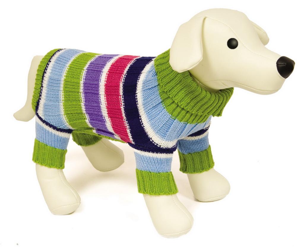 Схема вязания свитера для собак 7