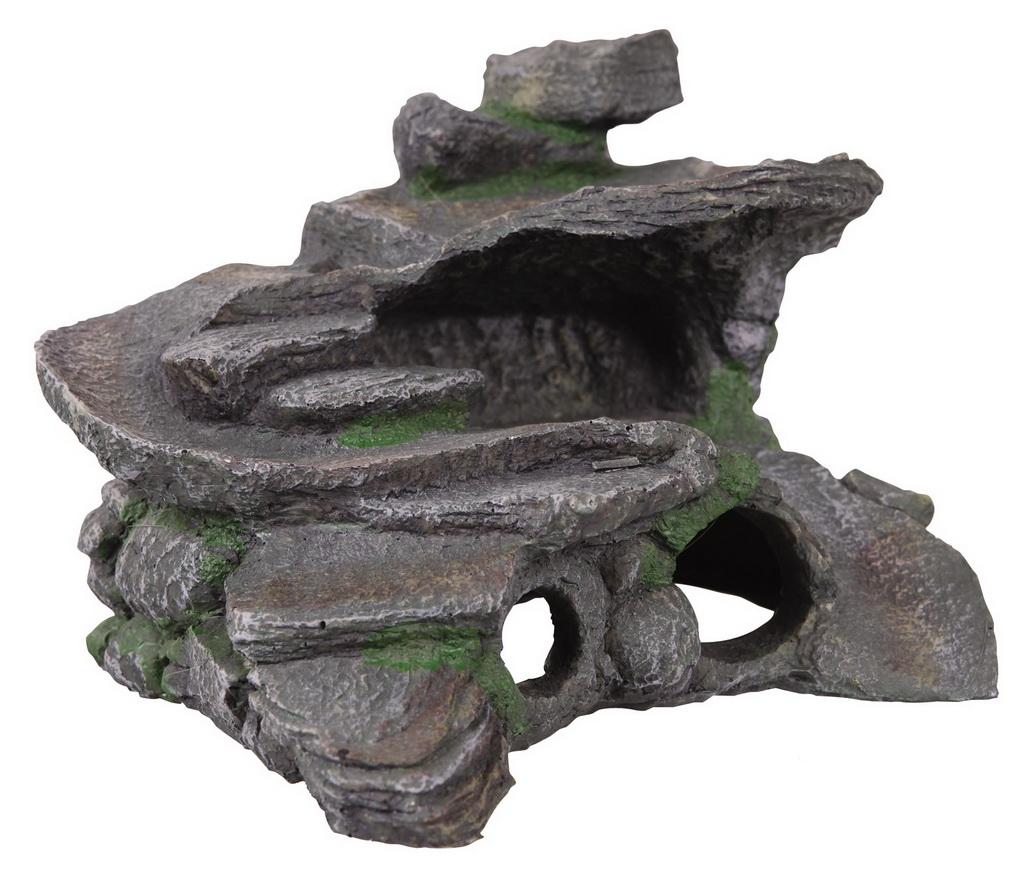 Островок для черепахи из камней своими руками